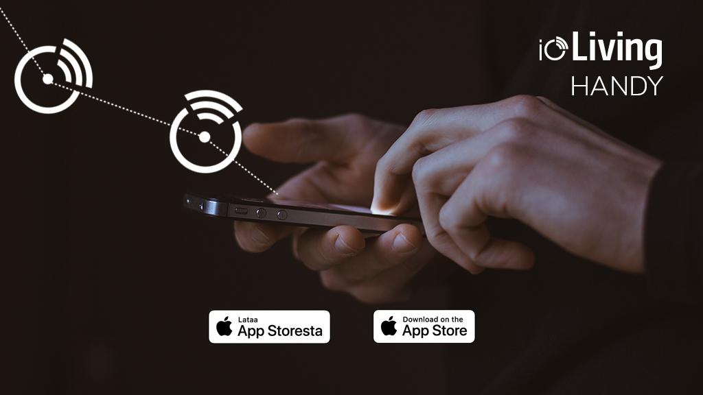 ioLiving Handy ladattavissa nyt myös AppStoresta