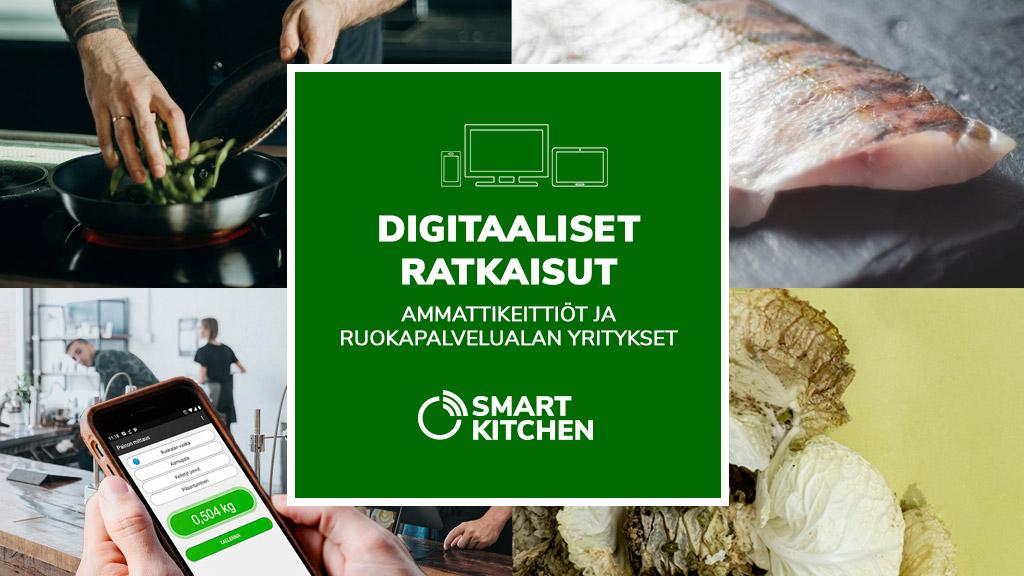 Smart Kitchen digitaaliset ratkaisut